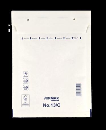 Luchtkussenenvelop 13/C 17 x 22,5 cm Wit per doos
