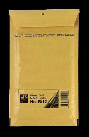 Luchtkussenenvelop 12/B 14 x 22,5 cm   Bruin   Per doos