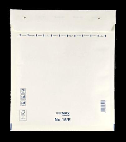 Luchtkussenenvelop 15/E 24 x 27,5 cm Wit per doos