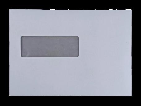 Vensterenvelop C5 16,2 x 22,9 cm Wit per doos