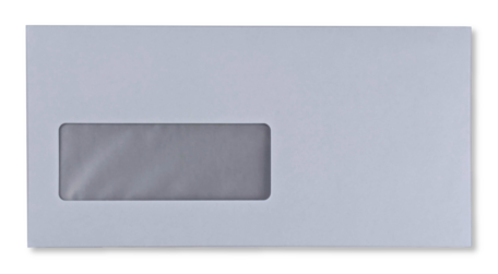Vensterenvelop C5/6 11,4 x 22,9 cm Wit per pallet