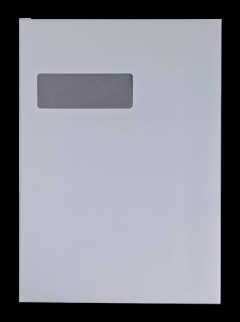 Vensterenvelop C4 22,9 x 32,4 cm Recycled Wit per pallet