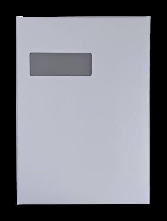 Vensterenvelop C4 22,9 x 32,4 cm Wit per doos