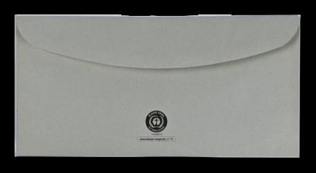 Envelop C5/6 11,4 x 22,9 cm Grijs