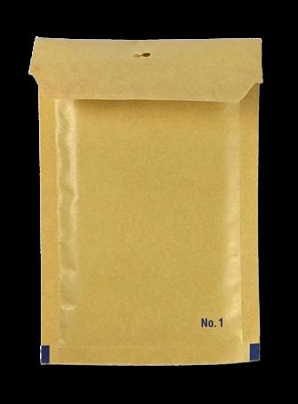 Luchtkussenenvelop 11/A 12 x 17,5 cm Bruin per doos