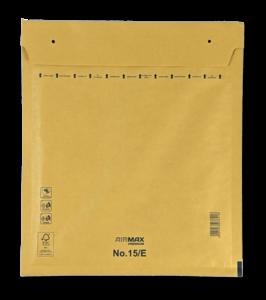 Luchtkussenenvelop 15/E 24 x 27,5 cm Bruin