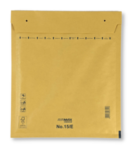 Luchtkussenenvelop 15/E 24 x 27,5 cm Bruin per doos